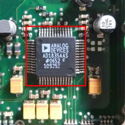 AD1835AAS Car Audio Car Computer Board Substitutable ECU Chip