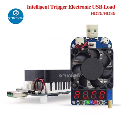 RD HD35 USB Trigger QC2.0 3.0 Electronic USB Load resistor