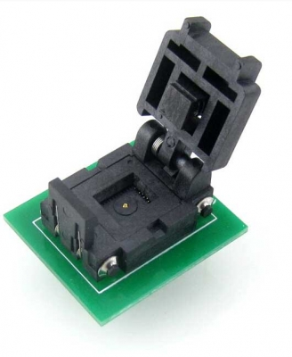 QFN8 to DIP8 8 pin IC Socket MLF8 socket adapter