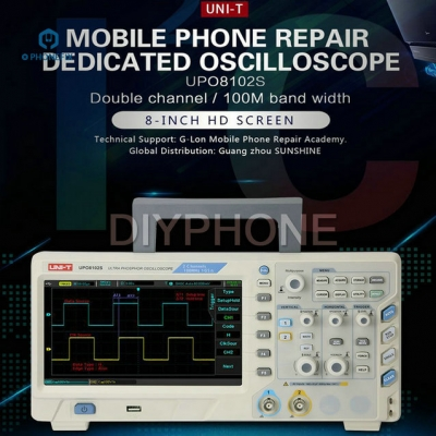 UNI-T UPO8102S Phone Repair Dedicated Oscilloscope Dual Channel 100MHz