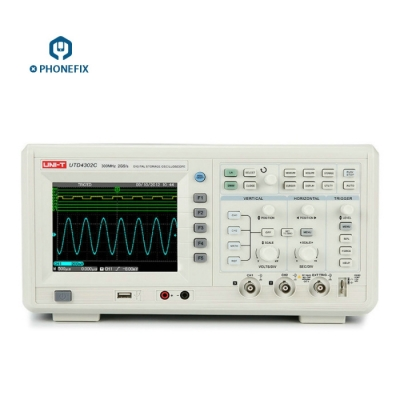 UNI-T UTD4302C Digital Storage Oscilloscopes 2 Channels 300MHz 2GS/s