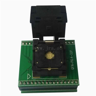 0.4 QFN32 to DIP32 test socket 4*4mm QFN32 programmer adapter