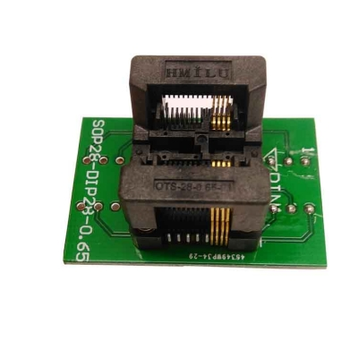 Simple SSOP8 to DIP8 IC test socket adapter TSSOP8 0.65mm
