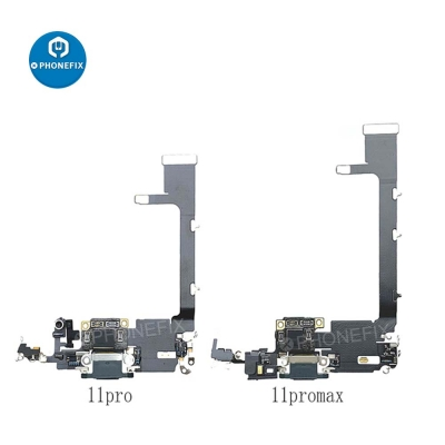 USB Charging Dock Tail Plug Flex Cable For iPhone 11 Pro Max