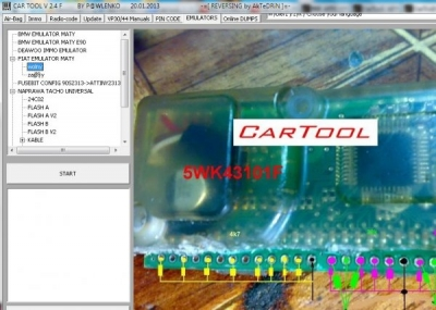 Cracked Cartool 2.4F Car electronics software Free CarTool 3.0F