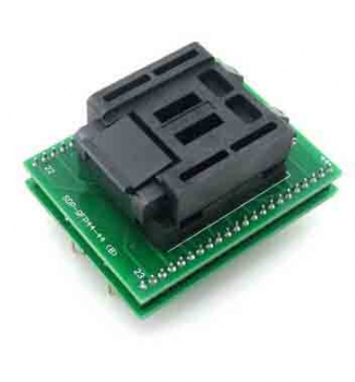 QFP44 to DIP44 44 pin programmer adapter TQFP44 Test socket
