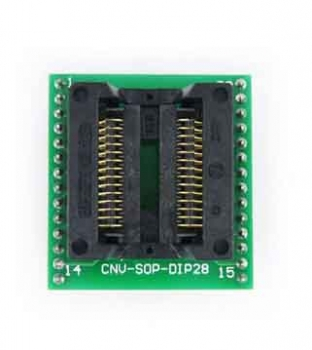SOP28 to DIP28 28 pin IC socket SOIC28 SOP28 IC programmer adapter