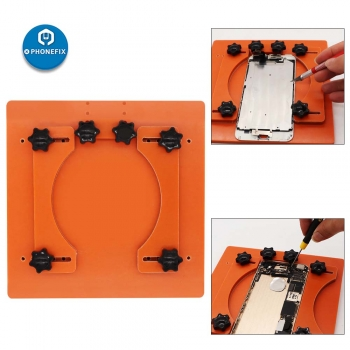 Adjustable Fixed Fixture phone Back Cover Remove Separating Tool