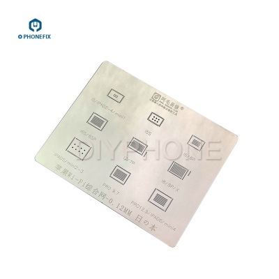 0.12mm AMAO universal iphone ipad wifi chip BGA Reballing Stencil Template