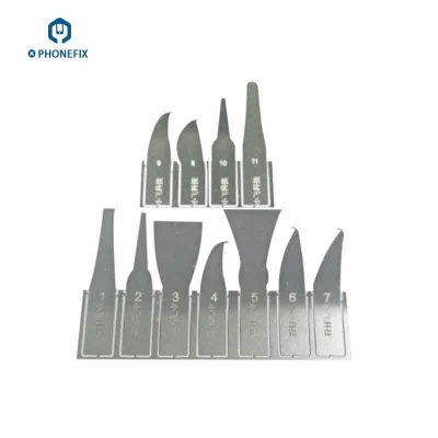 different shapes blade for iPhone BGA CPU Remove Graver Scraper