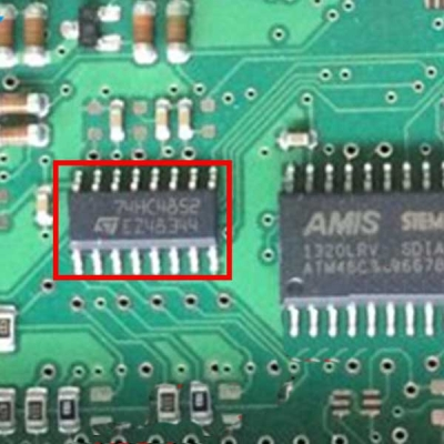74HC4852 Car Computer Board Vulnerable CPU Processor Engine