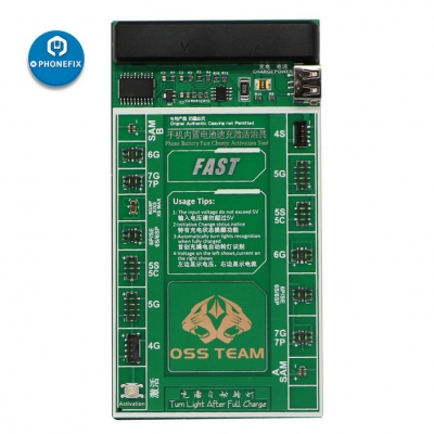 W208 plus 2 IN 1 iPhone battery Fast Charging and Activation Board