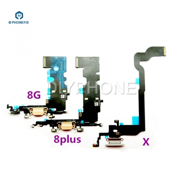 iphone 8 8P X Tail Plug Flex Cable Charge Flex Cable Assembly Transmitters