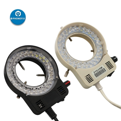 Microscope Led Ring Lamp adjustable led light 100-240V