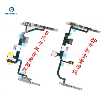 iphone 8 X Turn on off Starting Up Flex Cable 8 8Plus Volume Flex Cable