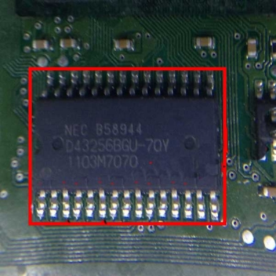 B58944 edc16 Diesel Engine Auto Computer Board Replaceable IC