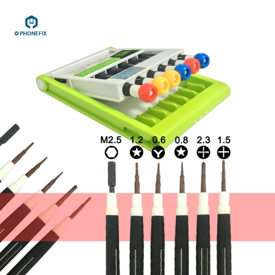 6 IN 1 Precision Screwdrivers Set Toolbox Samsung Opening Repair Tools