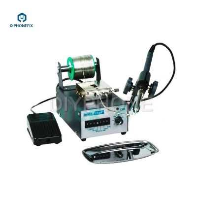 QUICK 375B+ Rework Station Automatic tin feed soldering machine