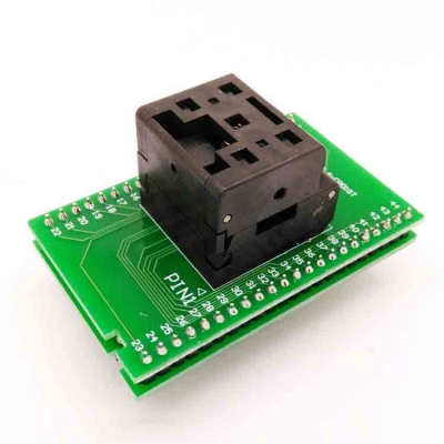 QFN44 IC test socket 6*6 0.4mm QFN44 Programming adapter