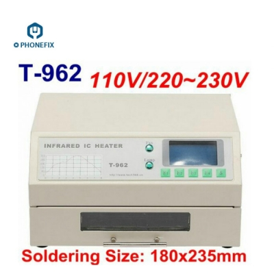 T962 T962A T962C Reflow Oven Infrared IC Heater BGA Rework Station