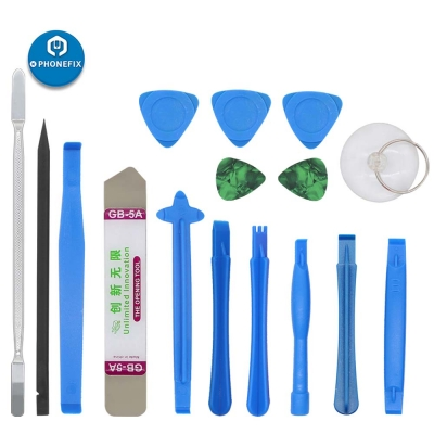 16 in 1 Spudger Pry opening tools set for iphone ipad laptop LCD repair