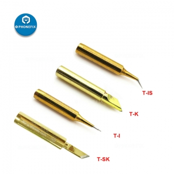 golden high quality Solder Iron Tip 936 900M-T Lead-free Solder Iron Tip