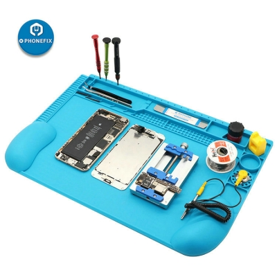 3D Curved Heat Insulation Silicone Pad BGA Soldering Repair Platform