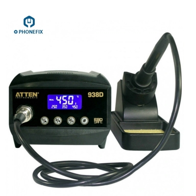 ATTEN AT938D intelligent Digital Soldering Station ESD safe 60W