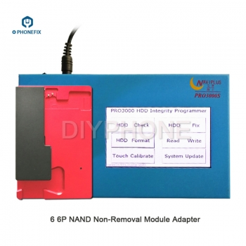 iPhone 6 6P NAND non-removal module adapter for Naviplus Pro3000s