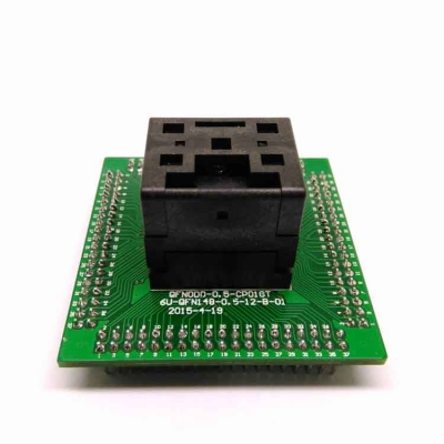 QFN20 IC test socket 4*4 0.5mm QFN20 Programming adapter