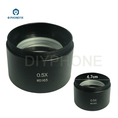 0.5X 2X 0.7X assisted objects lens Auxiliary for Stereo Zoom Microscope