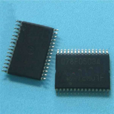 D78F0503A Car Computer ECU Driver CPU Control Usual Chip