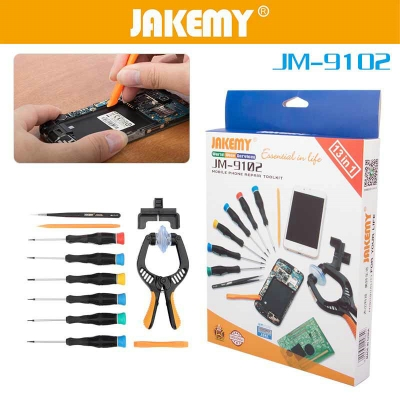 JM-9102 disassemble tools phone screwdriver set opening Pry Tools