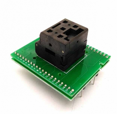 0.5mm QFN36 Burn-in Socket programmer adapter QFN36 test socket