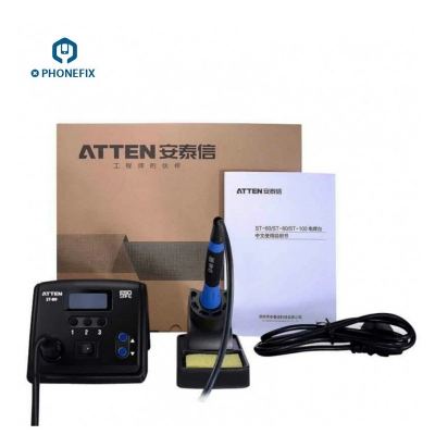 Atten ST-80 LCD display digital soldering station 80W Solder station