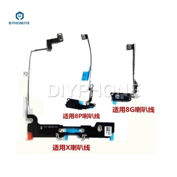 iphone 8 8P X WIFI Antenna loudspeaker Plate Wifi Signal Flex Cable