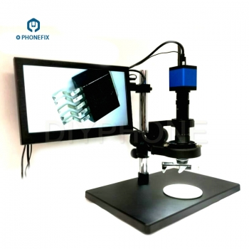 2D 3D Digital Microscope with 20MP HDMI Camera for Phone PCB Repair