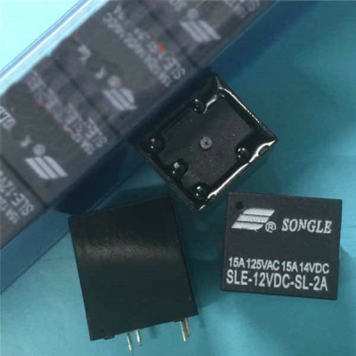 SLE-12VDC-SL-2A Car Computer Board Relay ECU Control Part