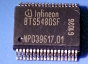 BTS5480SF Car computer IC SSOP36 BTS5480SF Car light drive chip