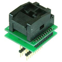 PLCC20 to DIP20 IC Test socket PLCC20 Chip programmer Adapter