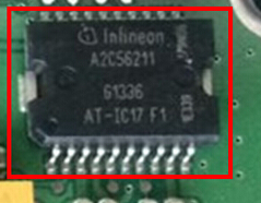 Infineon A2C56211 automobile engine power driver IC A2C56211 AT-IC17 F1