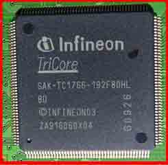 SAK-TC1766-192F80HL Auto ECU IC Auto computer board CPU processor chip