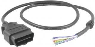 OBDII Connector male OBD-II extension cable male OBD cable