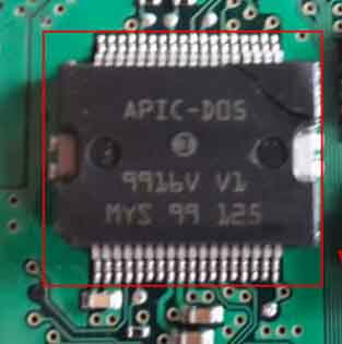 APIC-D05 Car ECU chip Automotive Engine Control IC