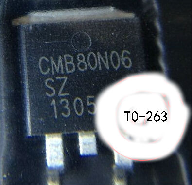 TO-263 package CMB80N06 Auto ECU Chip Car Computer transistor