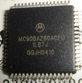 Motorola MC908AZ60ACFU 1L87J Car ECU Processor IC