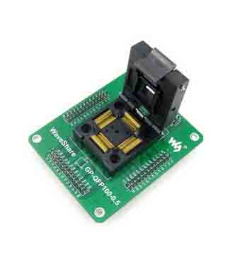 QFP100 to DIP100 100 pin ic socket TQFP100 programmer adapter