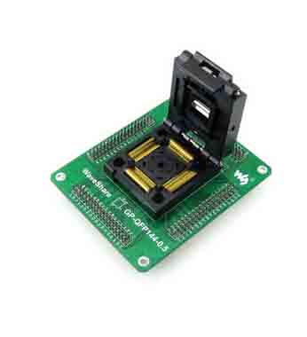 TQFP144 to DIP144 144 pin ic socket QFP144 programmer adapter
