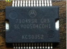 SC900504CDH1 71049SR ECU board injection drive chip