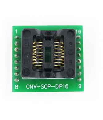 SOP16 to DIP16 16 pin IC test socket SOIC16 IC adapter